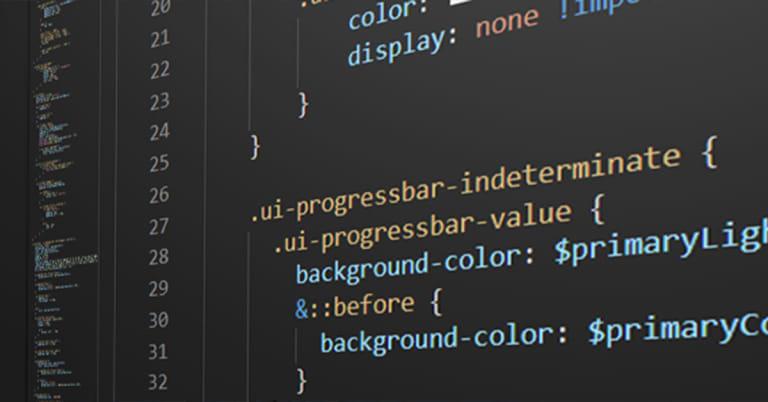 Bildschirmfoto CSS Source Code