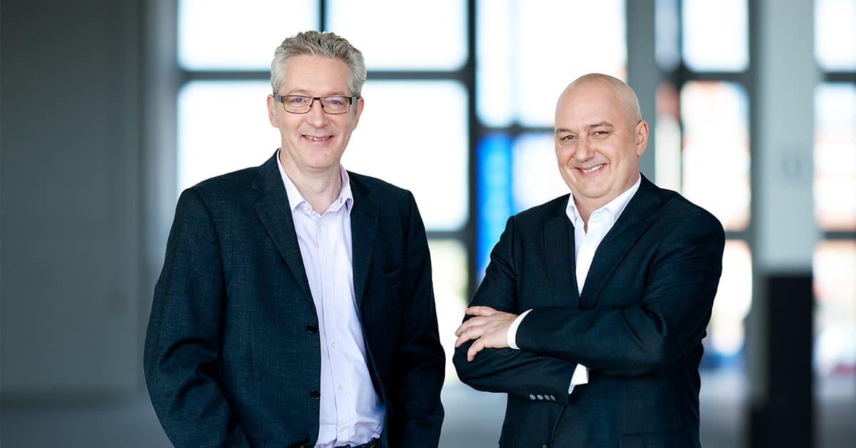 neusta software development West GmbH Geschäftsführer Andreas Wulf und Heiko Dietz