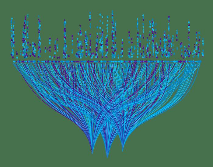 Illustration Verteilung Daten