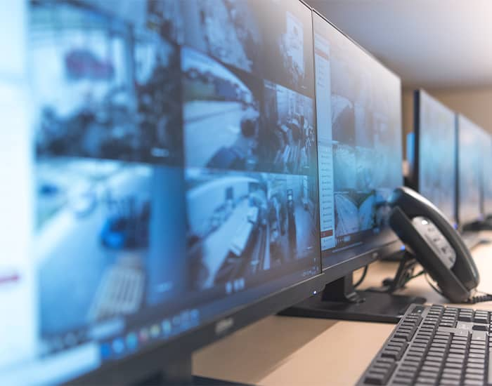 Illustration Security Überwachung