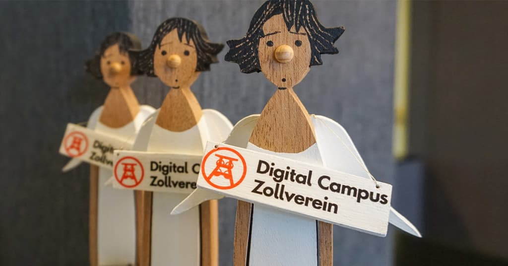 Engel des Digital Campus Zollverein