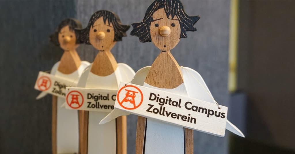 Engel des Digital Campus Zollverein