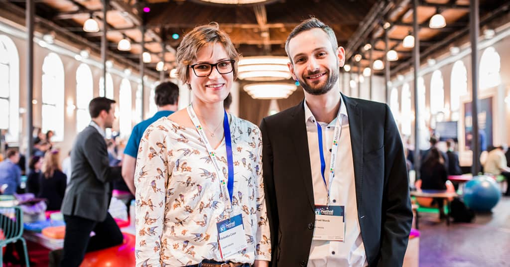 neusta Preisträger Rebekka und Michael